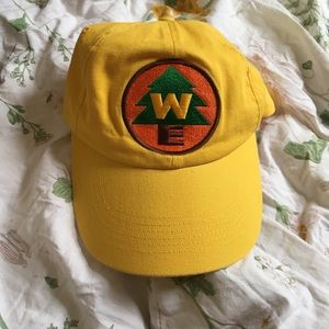 AUTHENTIC YELLOW UP RUSSELL'S HAT